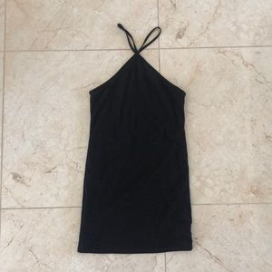 Black mini dress from Urban Outfitters